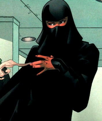 Burqas in comic books