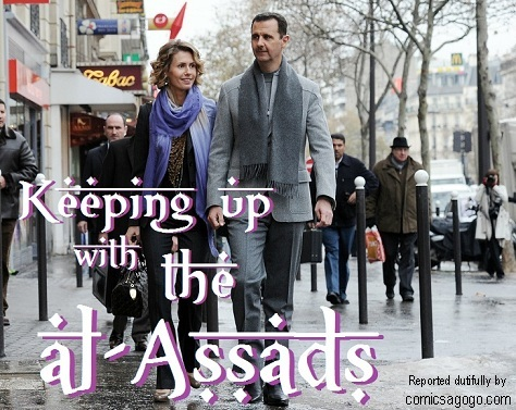 The latest report on Bashar and Asma al-Assad