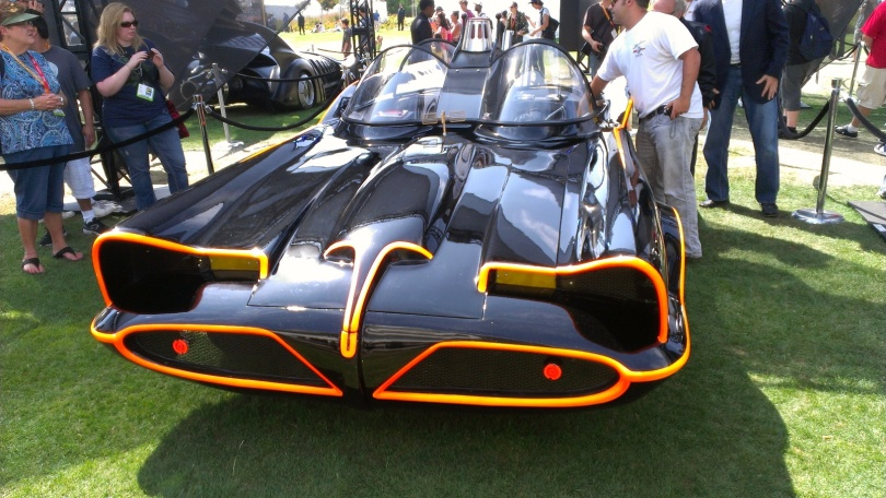 Batmobile from the 1960s TV show