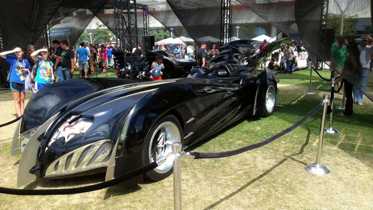 Batmobile from Batman & Robin (1997)