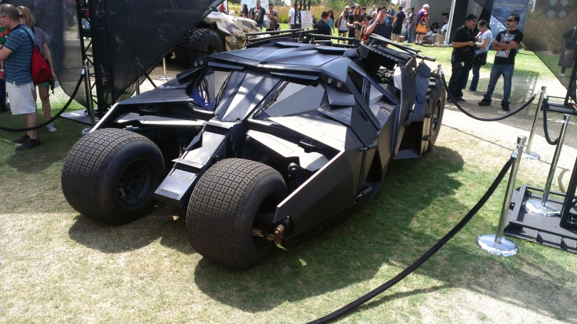 Batmobile from Batman Begins (2005) and The Dark Knight (2008)