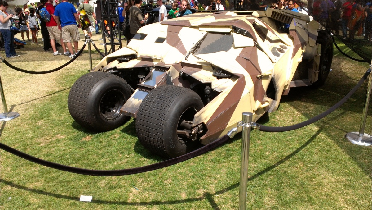 Batmobile from The Dark Knight Rises (2012)