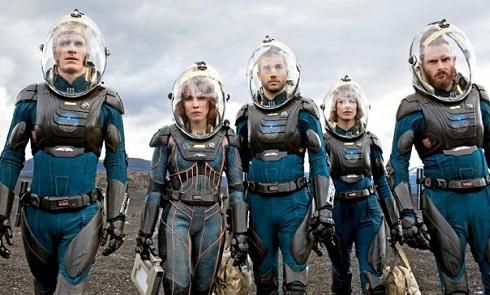 Prometheus crew