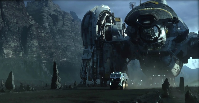 Prometheus movie 2012