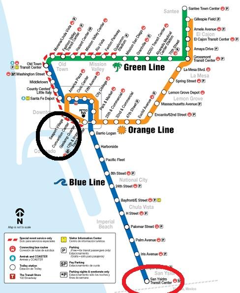 San Diego Metro Transit System