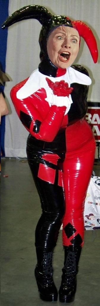 Harley Quinn, Hillary Clinton Cosplay, Comic-Con