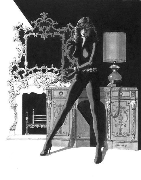 Comic book artist Paul Gulacy
