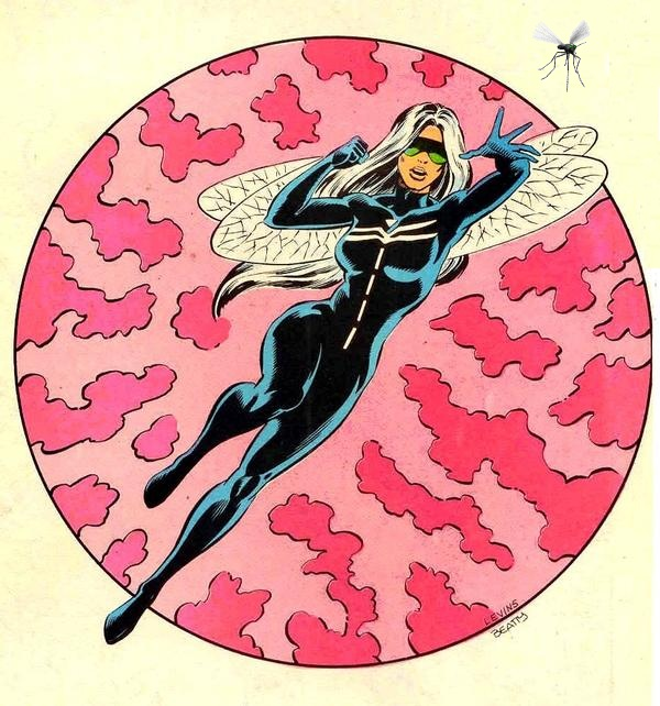 Dragonfly in AC Comics