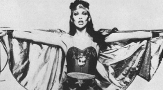 Angela Bowie screen tests for Wonder Woman role