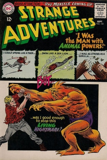 First Appearance of Animal Man
