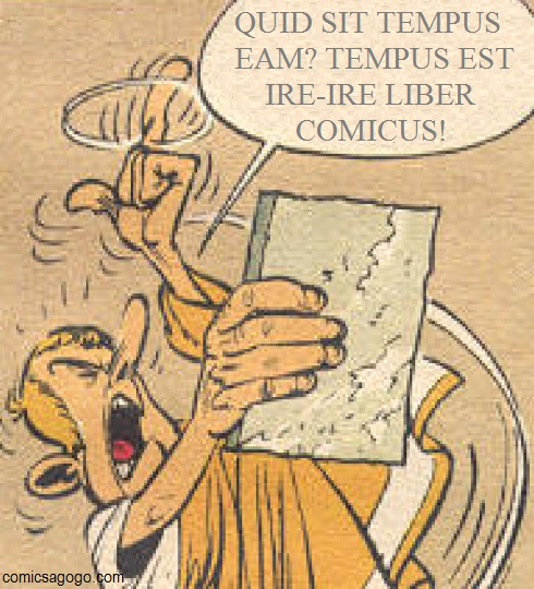 Lawyer from Asterix and the Laurel Wreath