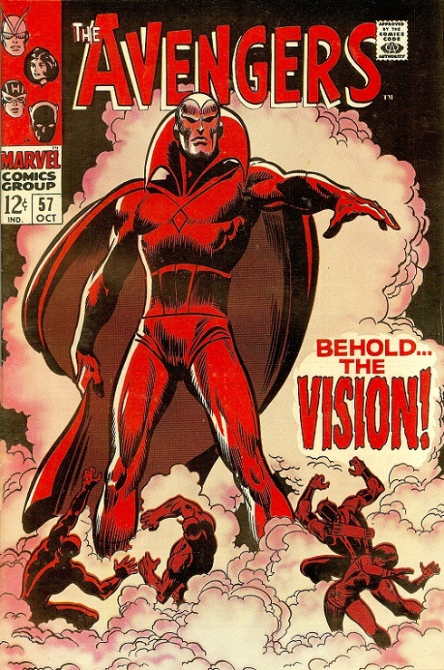 First appearance of The VIsion