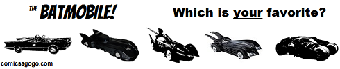 Batmobile favorites