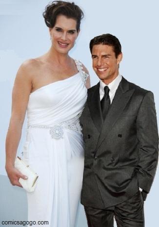 Brooke Sheild, Tom Cruise