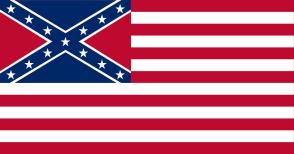 Confederate American Flag