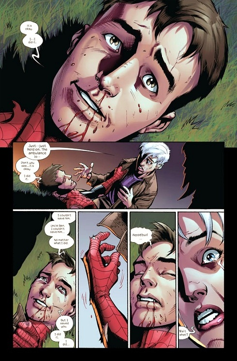 Spider-man, Death of Peter Parker