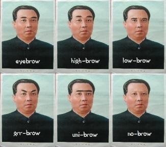 Kim Il-Sung eyebrows