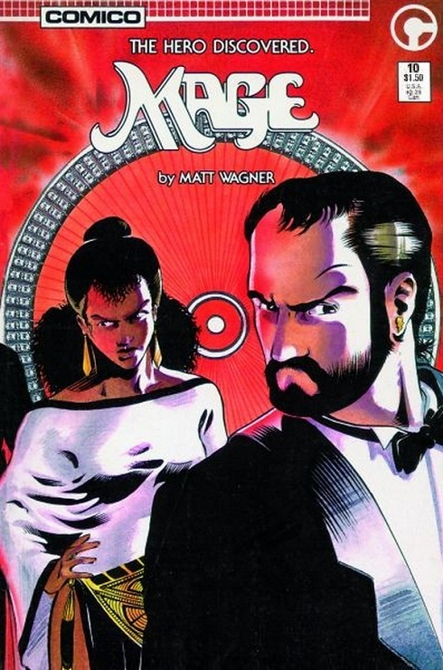 Matt Wagner, Comico, and Mage