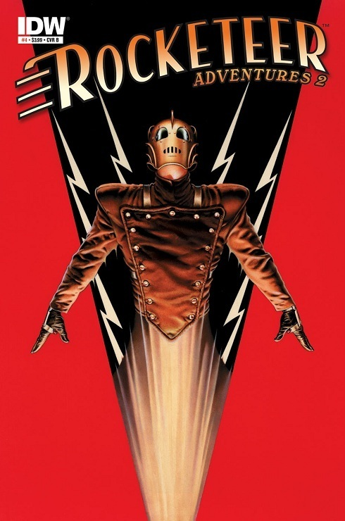 IDW publisher, Rocketeer