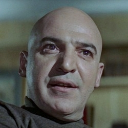 James Bond Villain: Ernst Stavro Blofeld in the movie On Her Majesty's Secret Service