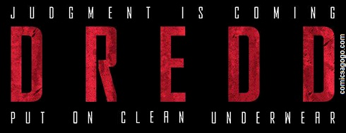 Judge Dredd movie banner