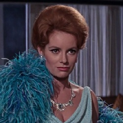 James Bond Villains: Fiona Volpe from the movie Thunderball