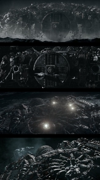 Nazi warship from Iron Sky