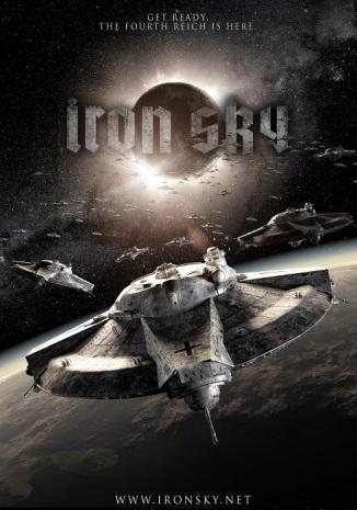 Iron Sky poster aircraft