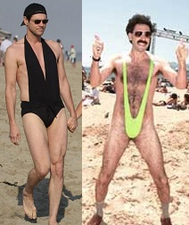 Jim Carrey and Sacha Baron Cohen are weirdos