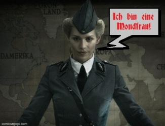Julia Dietze in Iron Sky
