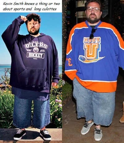 Kevin Smith has terrible taste in clothes