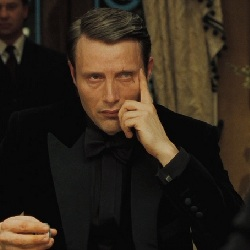 James Bond Villain: Le Chiffre from the movie Casino Royale
