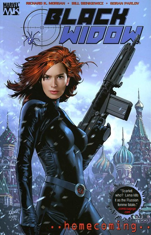 Black Widow, Marvel Comics character