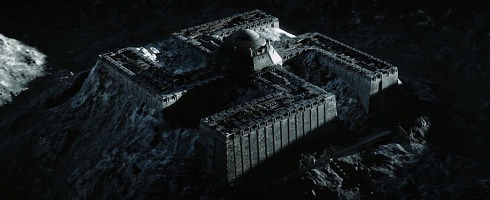 Nazi Fortress on the moon