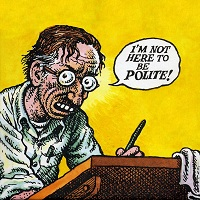Robert Crum, cartoonist
