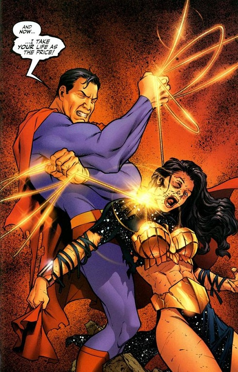 Superman kills Wonder Woman