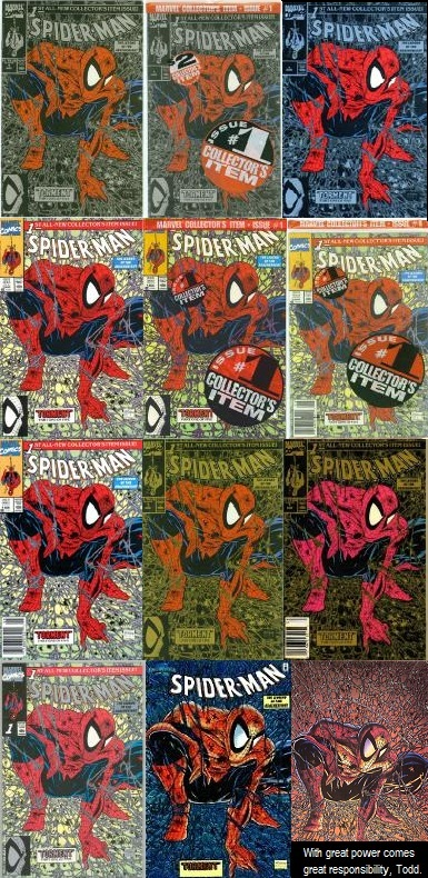 Comic Book Cover Variants