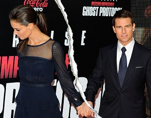 Tom Cruise divorced Katie in 2012