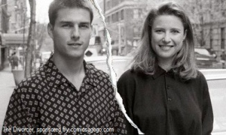 Tom Cruise divorced Mimi Rogers in 1990