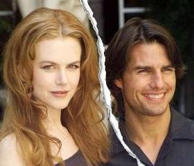 Tom Cruise divorced Nicole Kidman in 2001