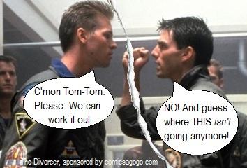 Tom Cruise dated Val Kilmer