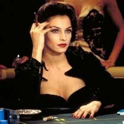 James Bond Villain: Xenia Onatopp from the movie Goldeneye