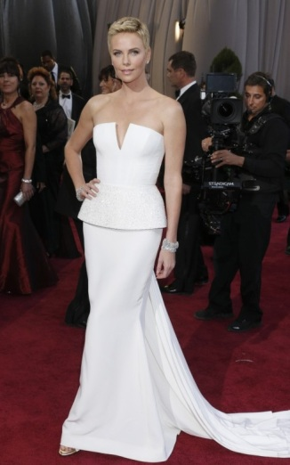 Charlize Theron - Academy Awards Red Carpet 2013