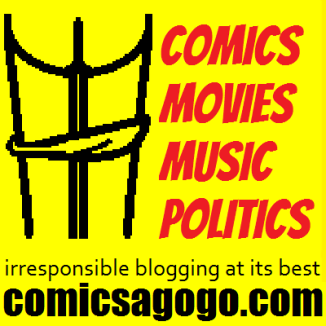 Comics A-Go-Go, irresponsible blogging at its best
