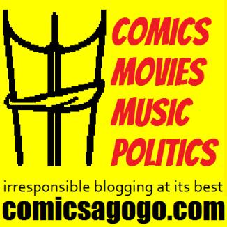 Comics A-Go-Go, irresponsible blogging at its best