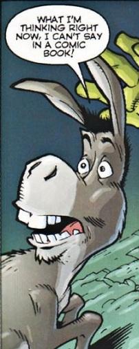 Donkey from the Shrek Comic Books
