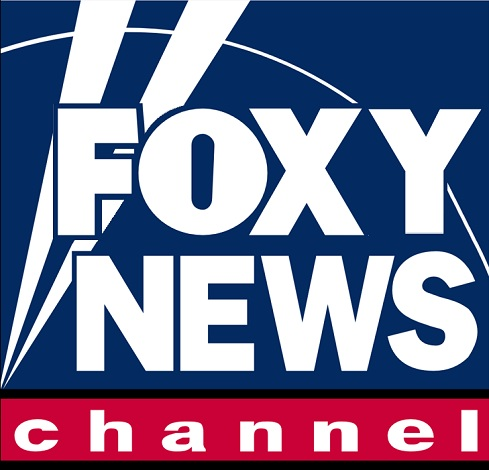 Fox News Logo that says Foxy News