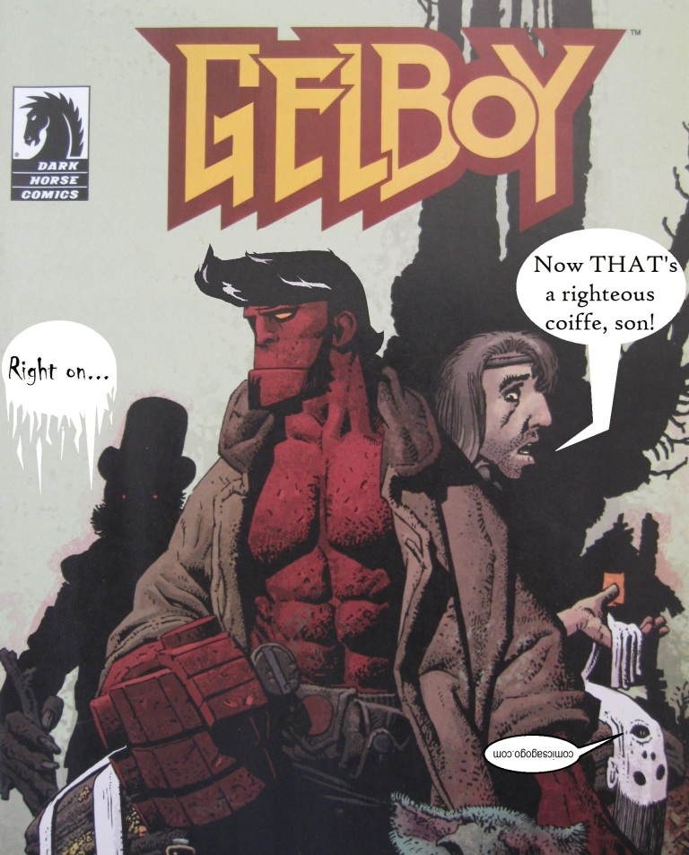 Hellboy parody as Gelboy from comicsagogo.com