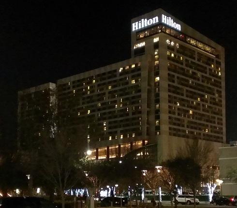 Hilton Americas Hotel in Downtown Houston Texas