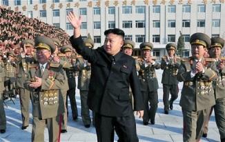 Kim Jong-un at a Military Event